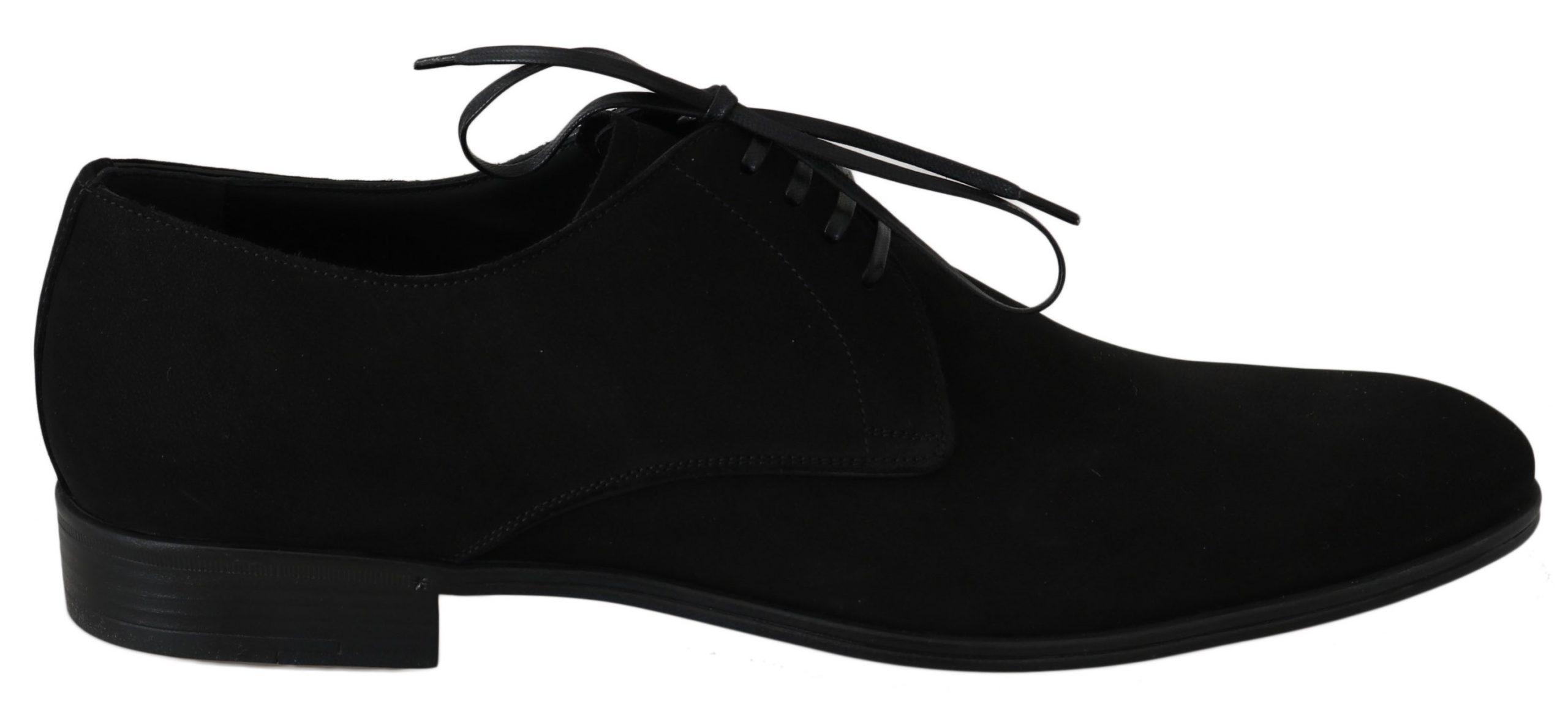 Dolce & Gabbana Men's Shoes Black MV2310 - EU41.5/US11.5