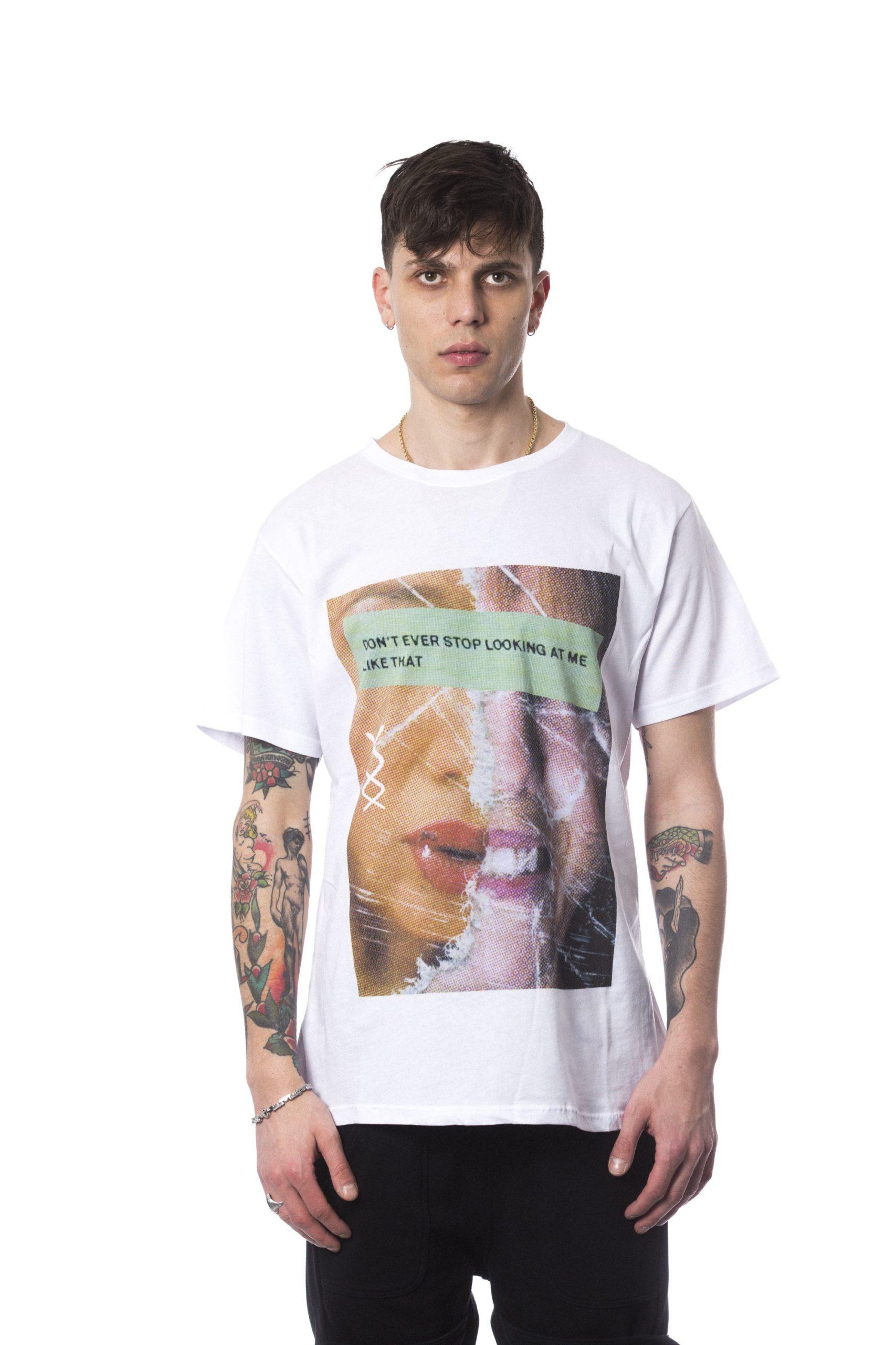 Nicolo Tonetto Men's Bianco T-Shirt White NI687549 - M