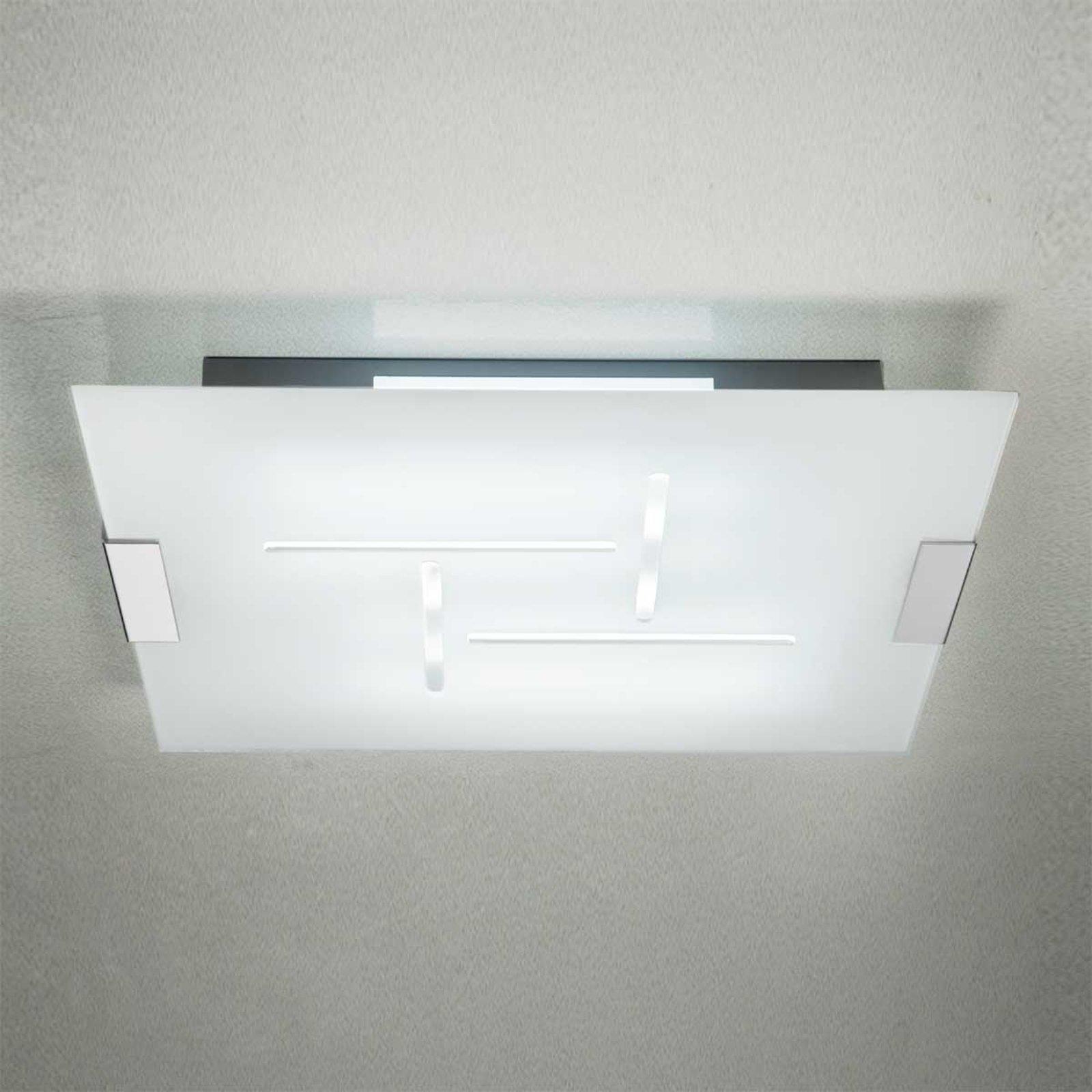 Taklampe SQUARE 8200, G5, 76 x 76 cm