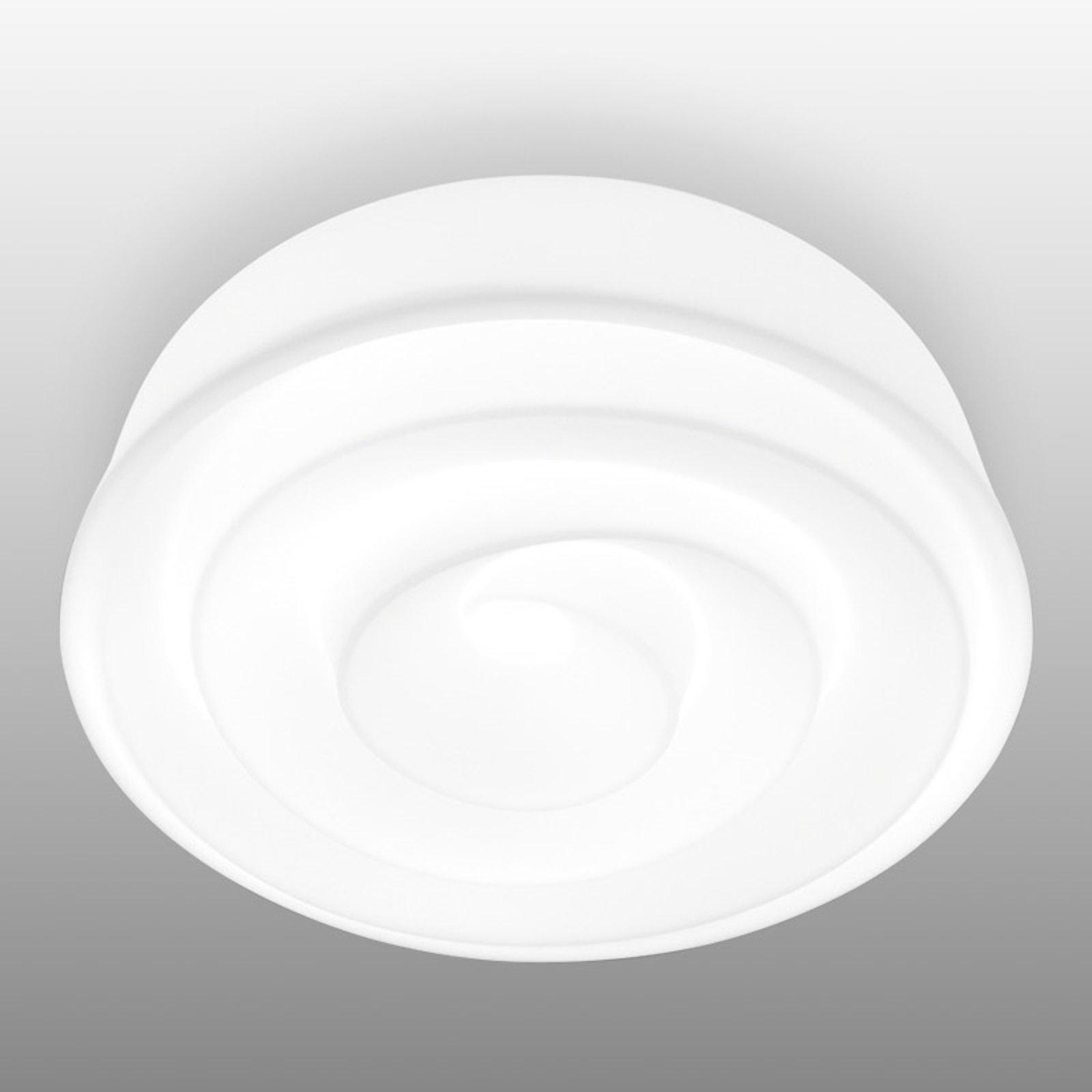 Roselie hvit taklampe