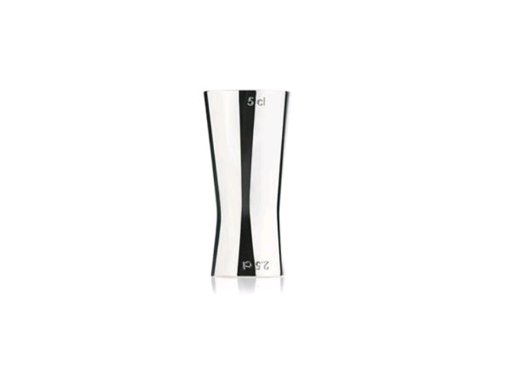 Zone - Rocks Measuring Cup - Polished Steel (332096)