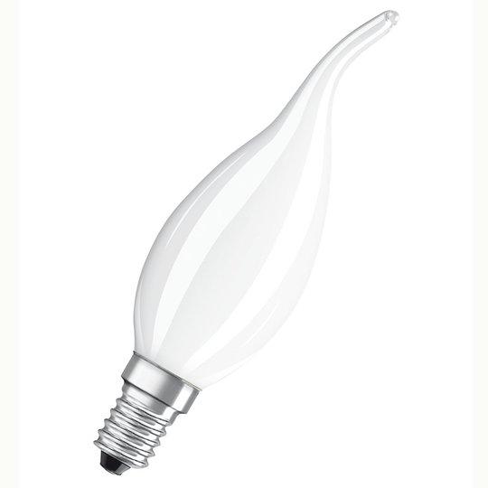 OSRAM-LED-liekkilamppu E14 5W 827, himmennettävä