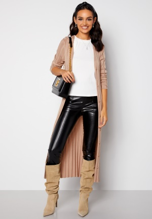 Happy Holly Anabelle long cardigan Beige 48/50