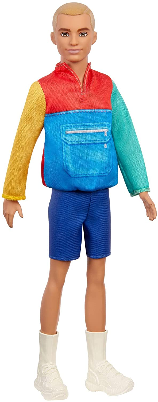 Barbie - Fashionistas Ken - Color Block Jacket & Shorts (GRB88)