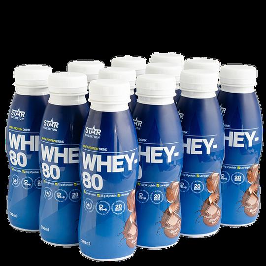 12 x Whey-80, Drink, 330 ml