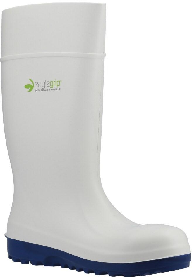 Amblers Unisex Safety Metal Free Wellington Boots Various Colours 30956 - White 11