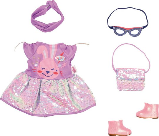Baby Born Deluxe Dukkeklær Happy Birthday Outfit 43 Cm