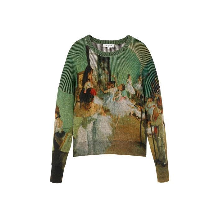 Desigual Women's Sweater Green 319882 - green S