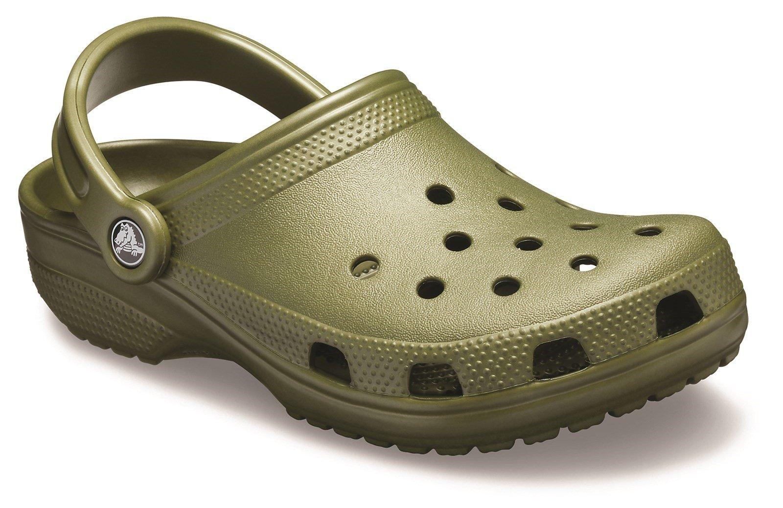 Crocs Unisex Classic Clog Sandal Various Colours 21060 - Army Green 5