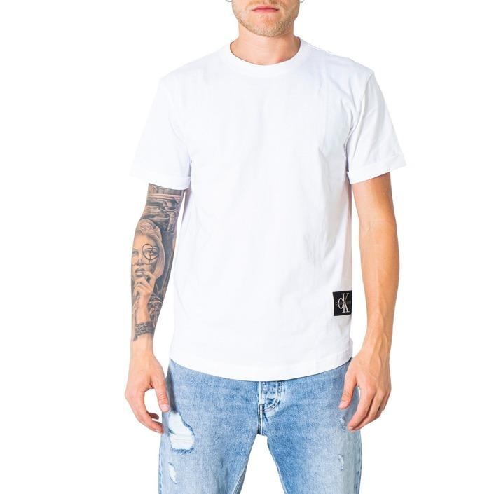 Calvin Klein Jeans Men's T-Shirt Various Colours 300027 - white XS