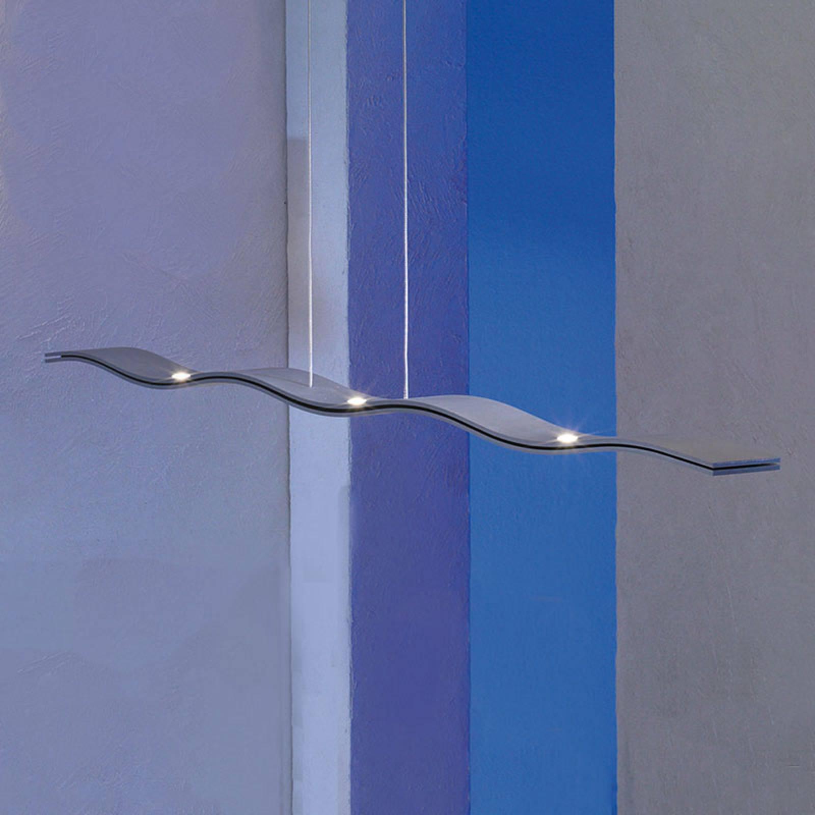 Escale Fluid -LED-valaisin, himmennys, alumiini