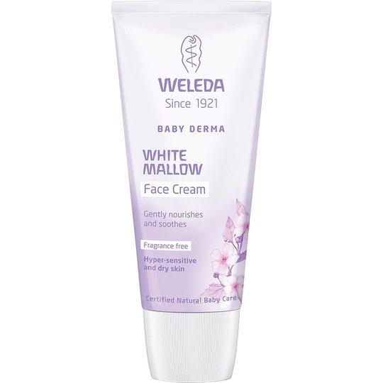 Weleda Baby Derma White Mallow Face Cream, 50 ml Weleda Luonnonkosmetiikka