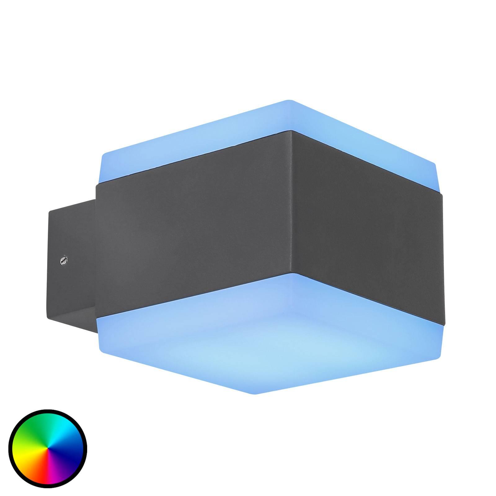 LED-ulkoseinälamppu Slice Tuya-Smart RGBW CCT