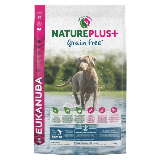 Eukanuba Nature Plus+ Grain Free Puppy Salmon (2,3 kg)