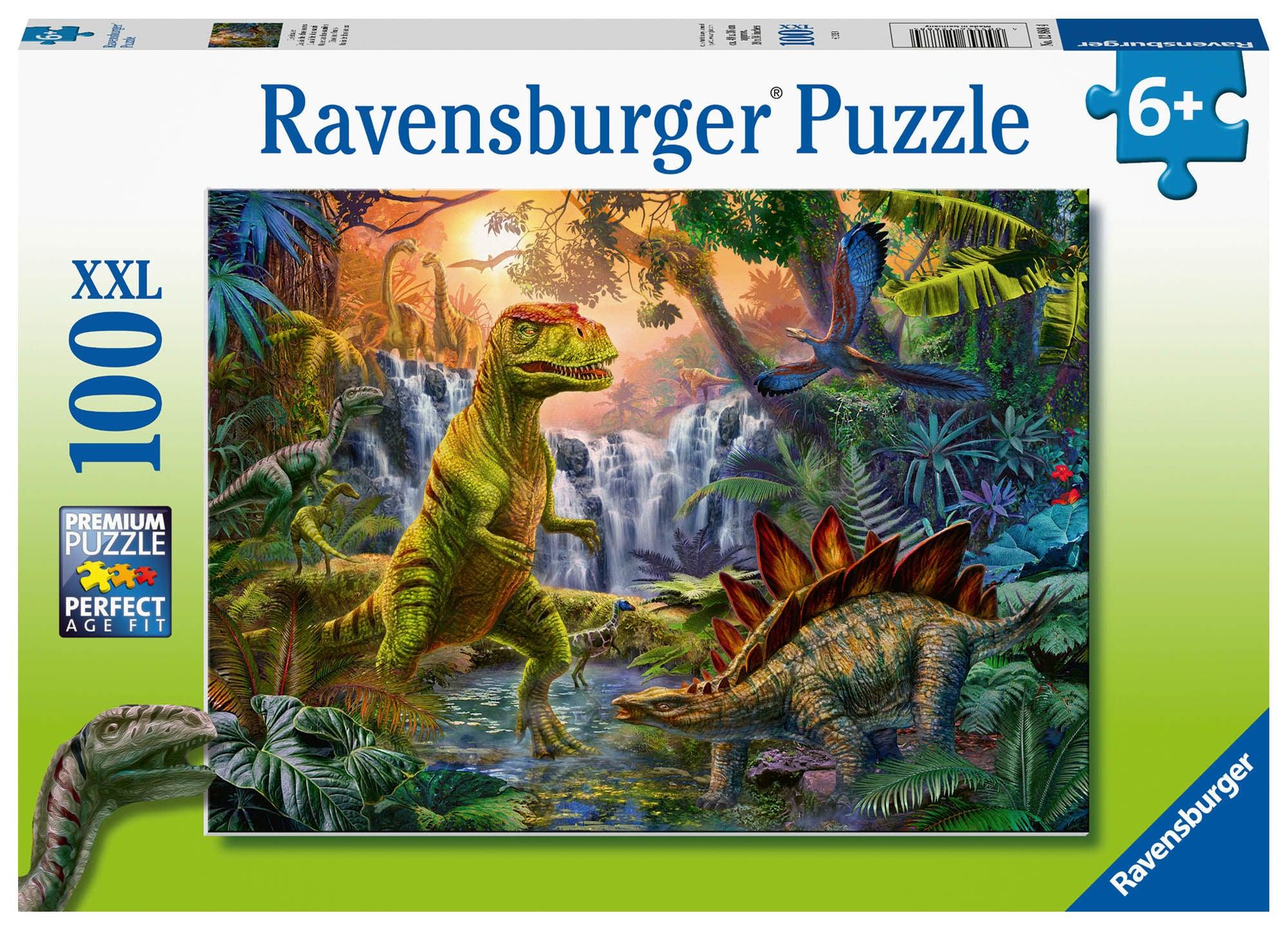 Ravensburger Pussel Dinosaurieoas 100 Bitar