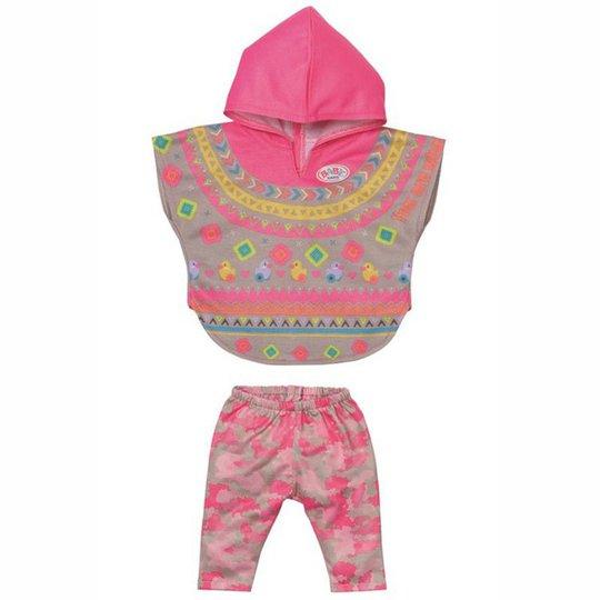 Baby Born Deluxe Dukkeklær Trendy Poncho 43 Cm
