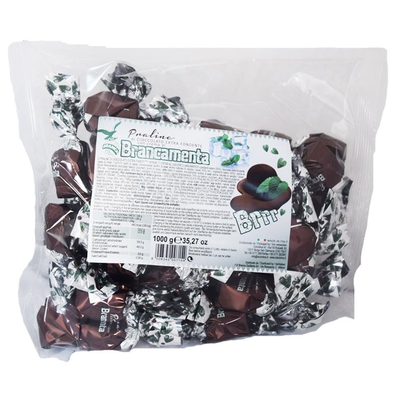 """Chokladpraliner Mörk """"Brancamenta"""" 1kg - 63% rabatt"""