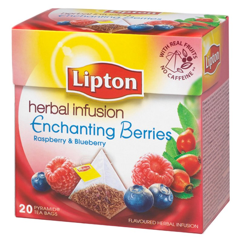"Te ""Raspberry Blueberry Infusion"" 20-pack - 41% rabatt"
