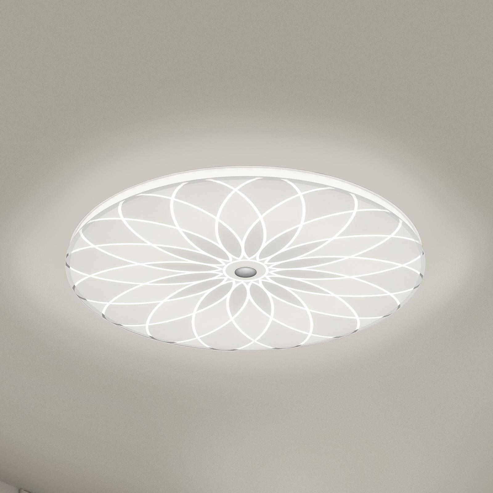BANKAMP Mandala LED-taklampe blomst, Ø 52 cm