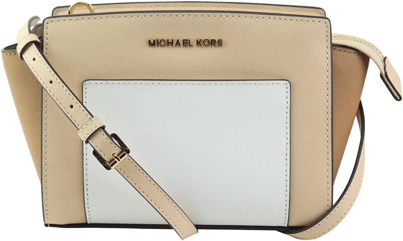 Michael Kors Women's Selma Crossbody Bag Brown MK29170