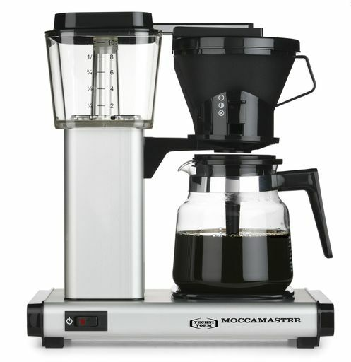 Moccamaster Hb951ao-ms Matt Silver Kaffebryggare - Aluminium