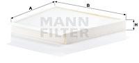 Raitisilmasuodatin MANN-FILTER CU 3172/1