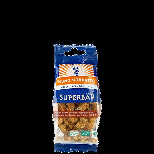 Superbär Mullbär KRAV, 50 g