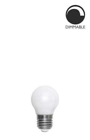 Lyskilde E27 LED Filament Glob Opal 45 mm 4,5W
