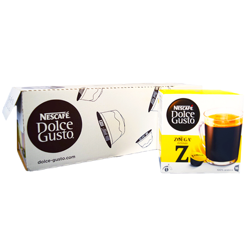 "Kaffekapslar ""Intenzo"" - 24% rabatt"