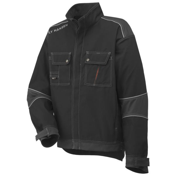 Helly Hansen Workwear Chelsea Jacka svart/grå, fodrad S