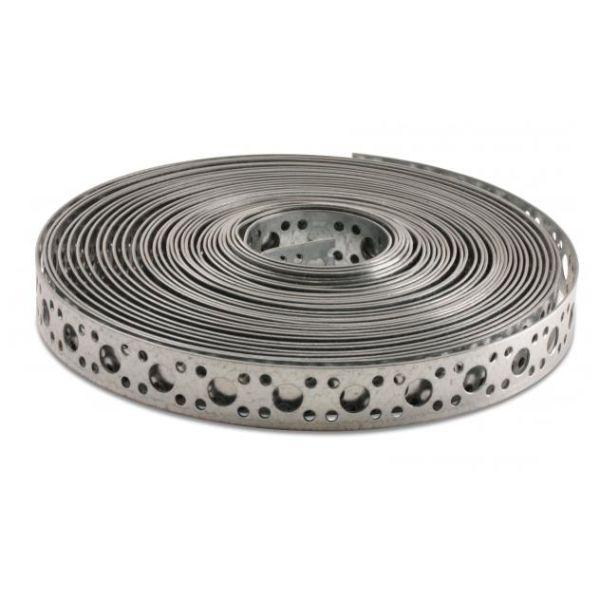 Heco 796130710000 Hullbånd varmgalvanisert, 10 m 13 x 0,7 mm