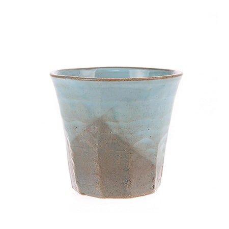 Japansk Keramikk Kopp Grå/Blå