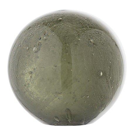 Dekorkule Grønn Glass 8,5cm