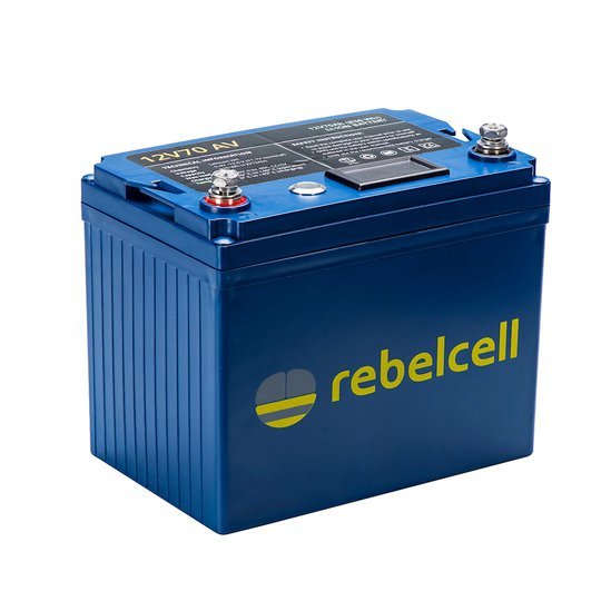 Rebelcell 12V 70 Ah litiumbatteri
