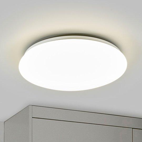 Valkoinen Suede-LED-kattovalaisin