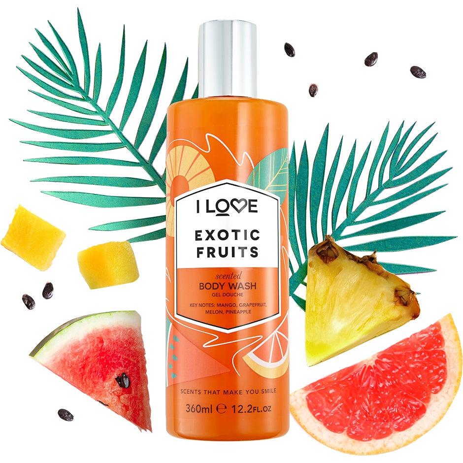Exotic Fruits, 360 ml I love… Kylpy & Suihku