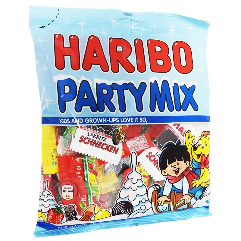 """Godisblandning """"Party Mix"""" - 37% rabatt"""