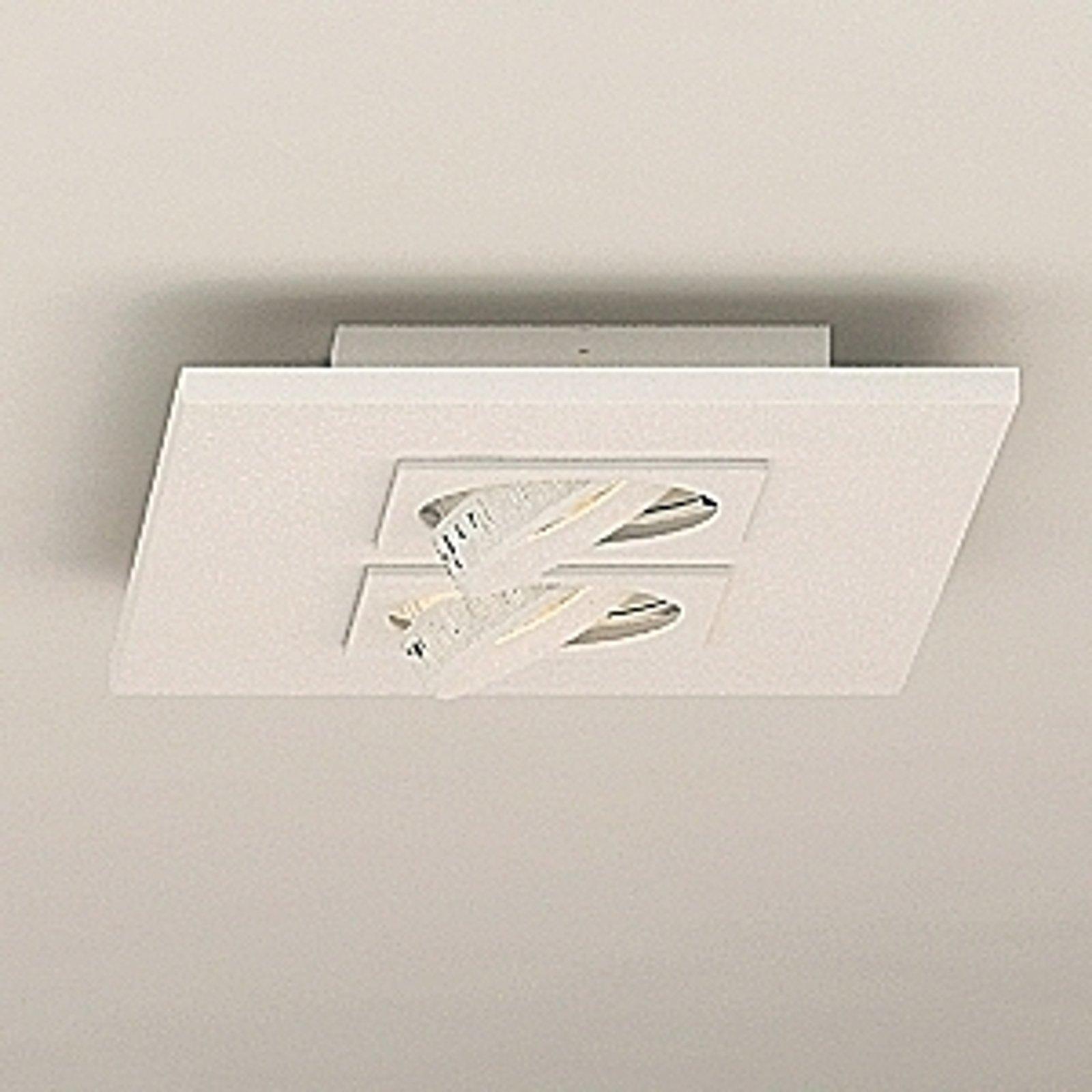 Milan Marc - LED-taklampe, 2 lyskilder, dreibar
