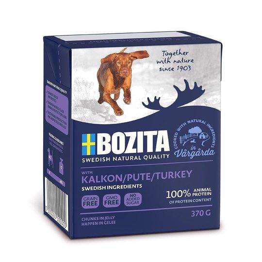 Bozita Kalkon Bitar i Gelé 370 g
