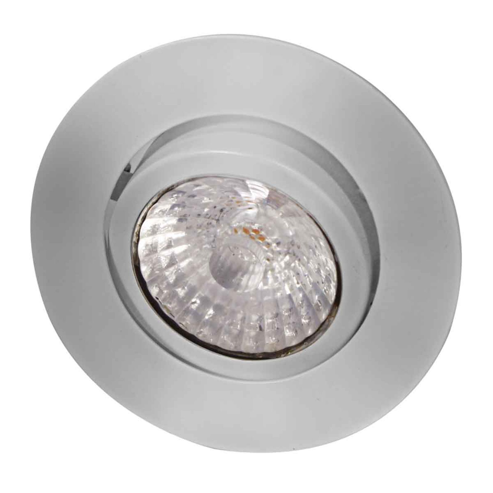 Rico - LED-kattouppokohdevalaisin 9W, harj. teräs