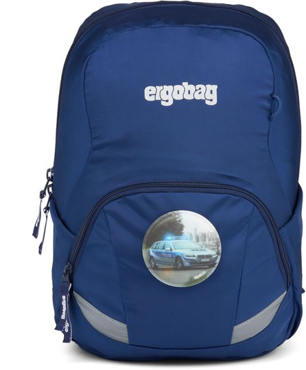 Ergobag Ease Bluelight Ryggsekk 10L, Blue