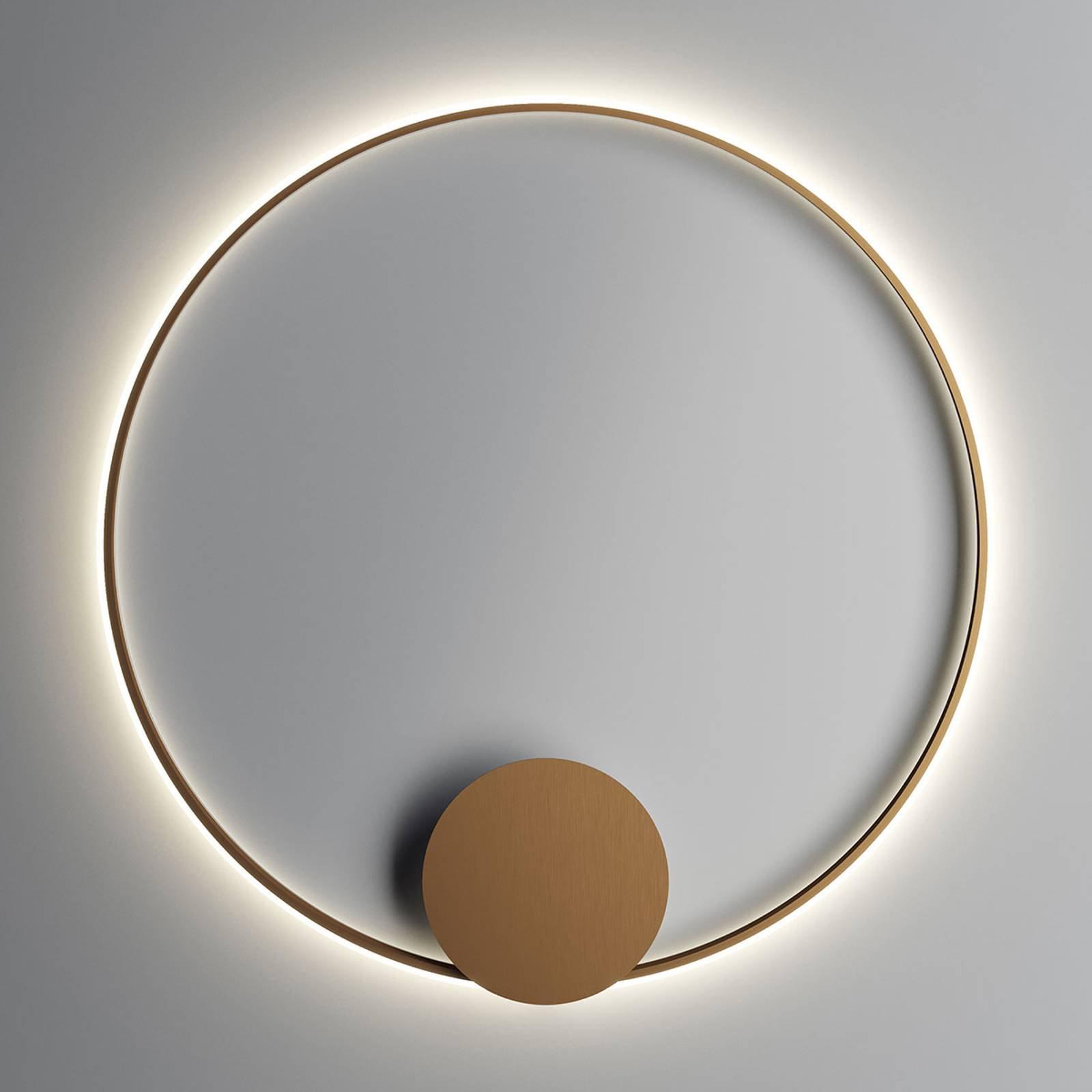 Fabbian Olympic LED-vegglampe Ø 110 cm, bronse