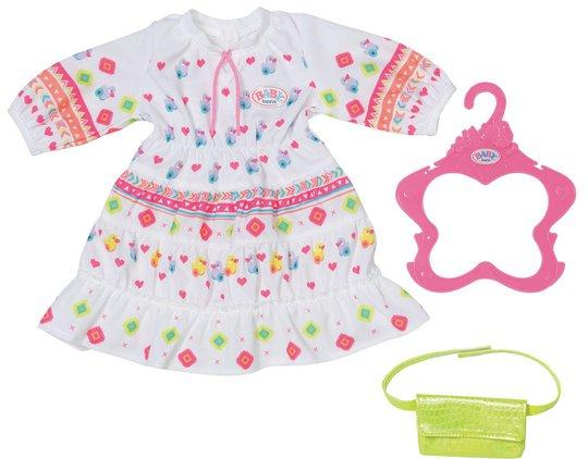 Baby Born Trendy Dukkeklær Boho Kjole 43 Cm
