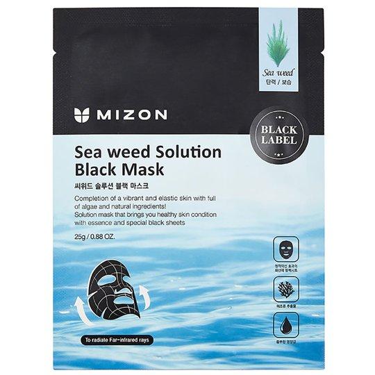 Seaweed Solution Black Mask, 25 g Mizon Kasvonaamiot