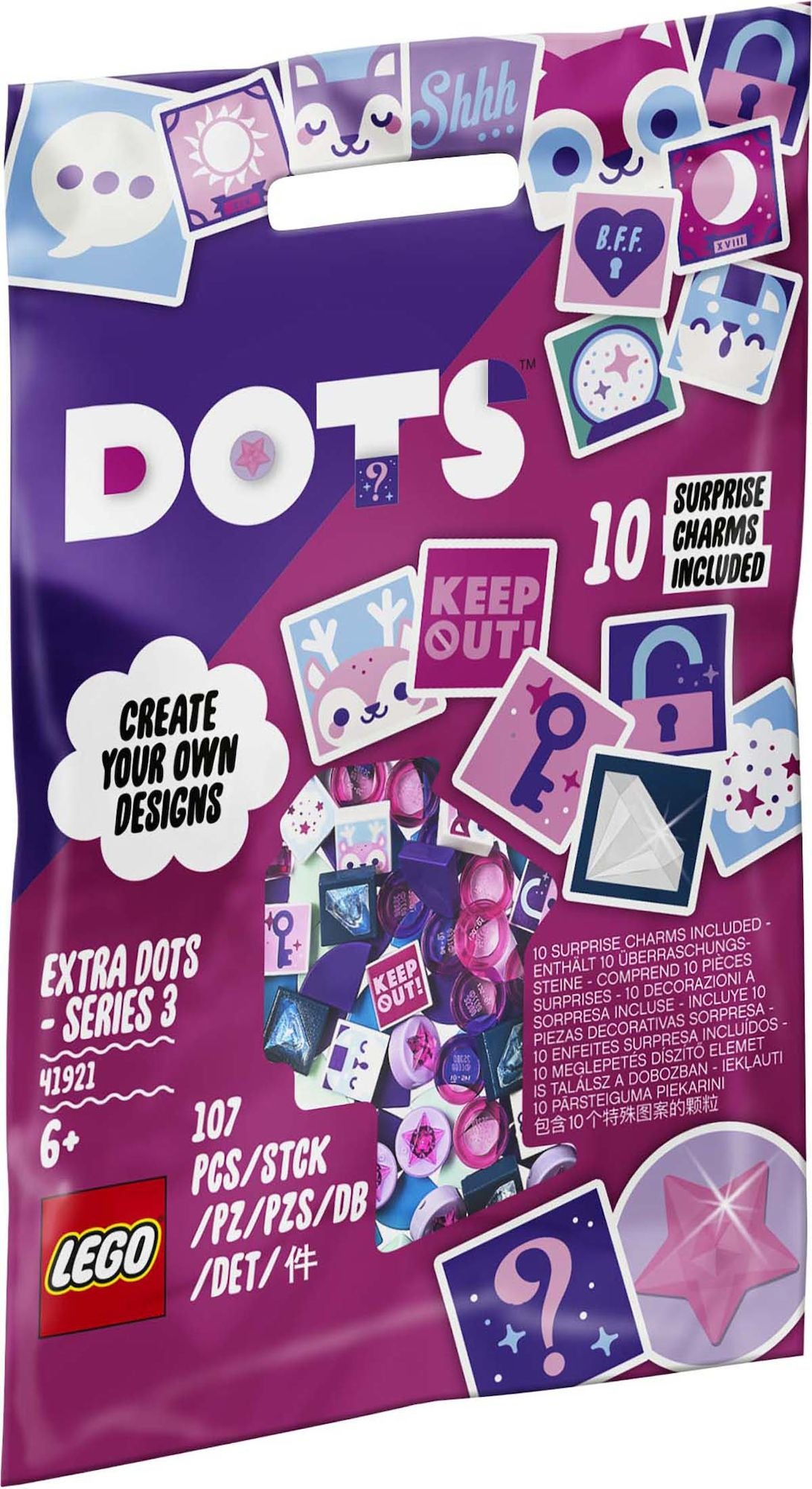 LEGO DOTS 41921 Extra DOTS – serie 3