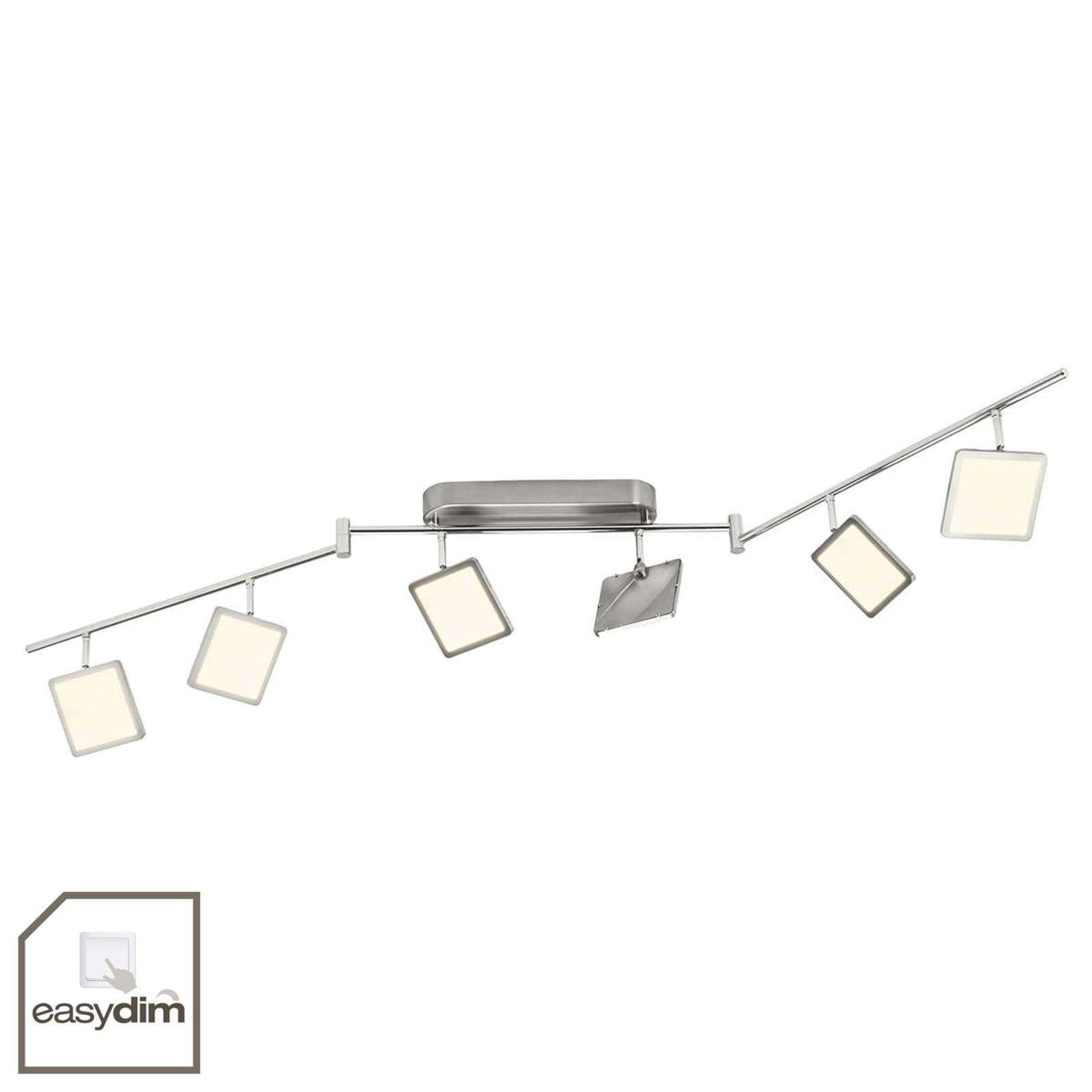 6 lyskilder easydim taklampe Uranus med LED