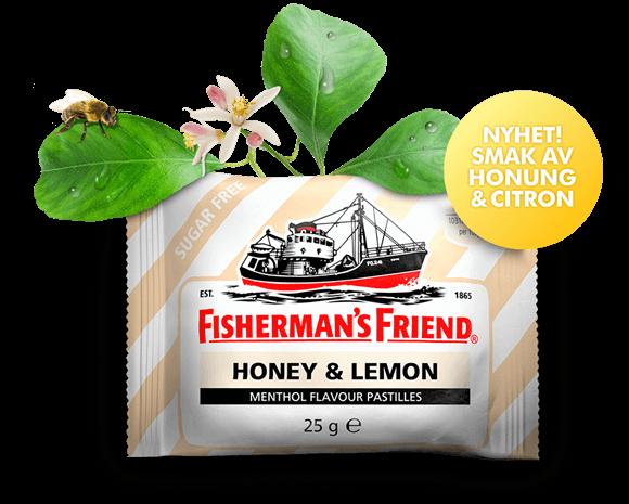 Fishermans Friend Honey & Lemon 25g