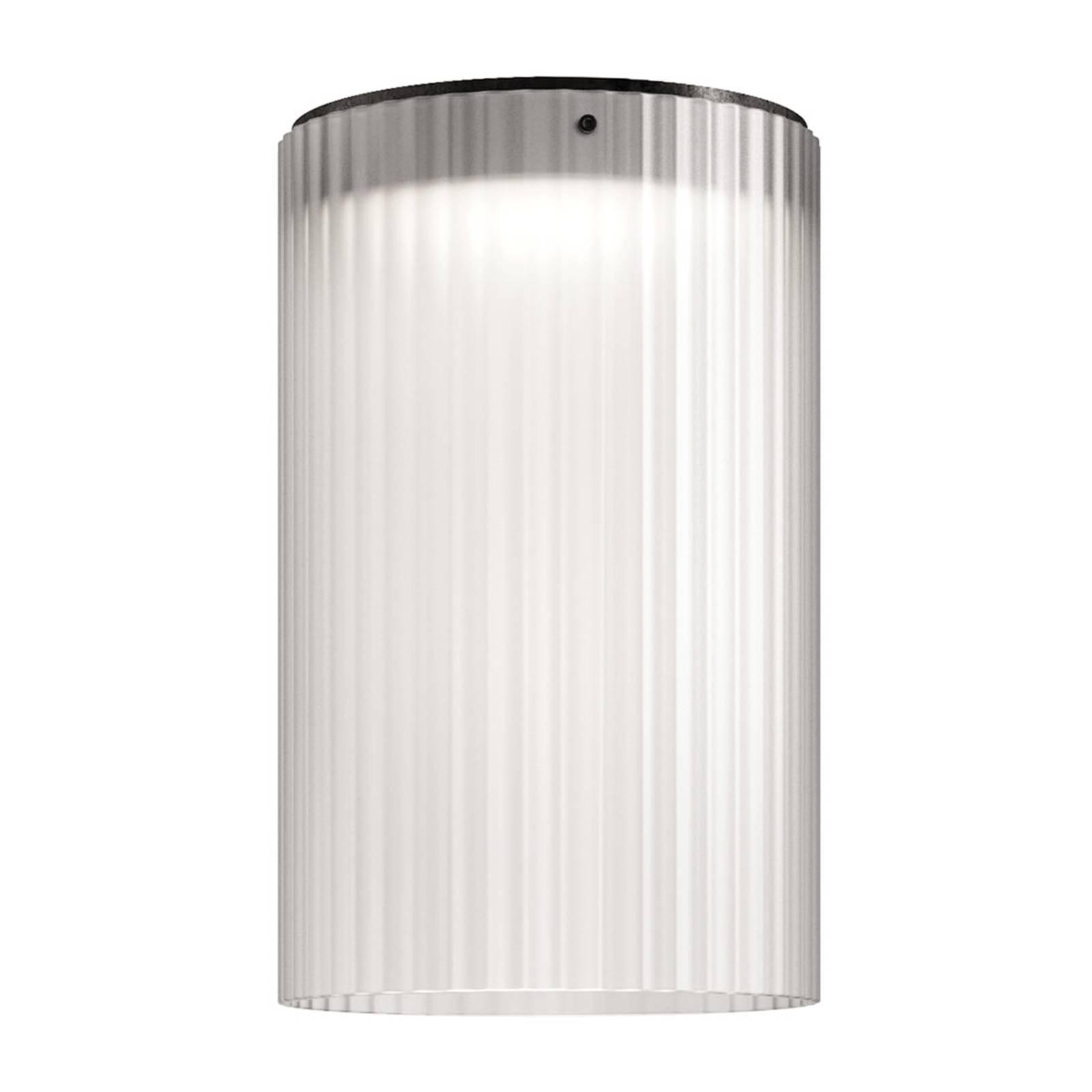 Kundalini Giass -LED-kattovalaisin Ø30cm valkoinen