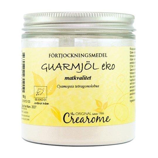 Crearome Ekologiskt Guarmjöl, 100 g