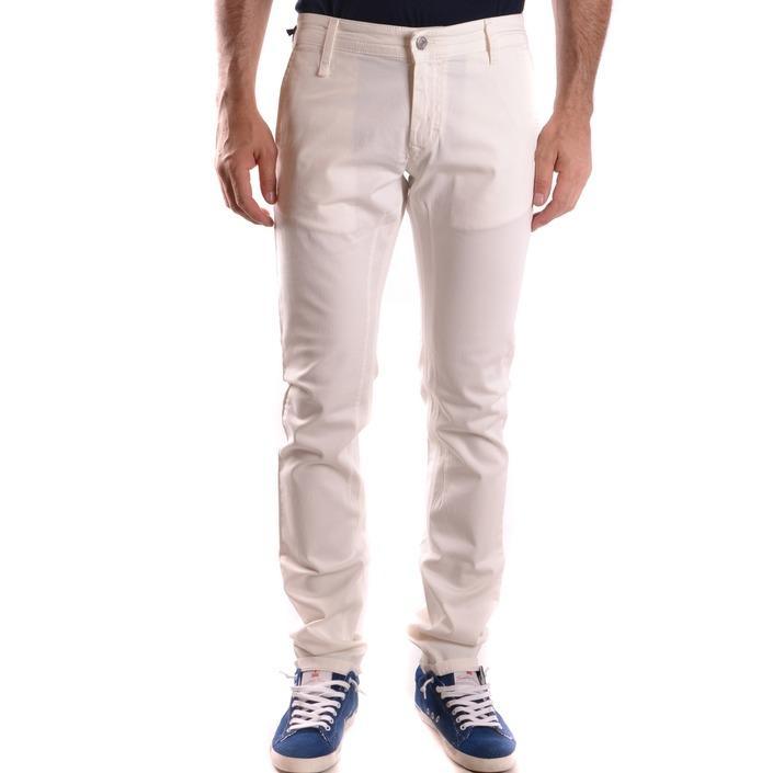 Daniele Alessandrini Men's Trouser White 187093 - white 29